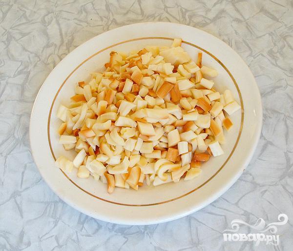 """Новогодний салат """"Нефритовый браслет"""" - фото шаг 3"""