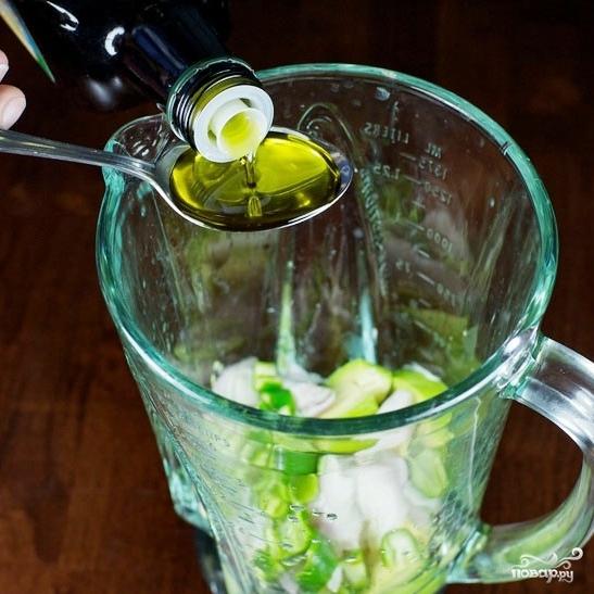 Зеленый салат с помидорами и авокадо - фото шаг 2