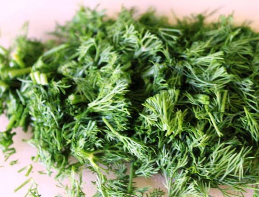 Салат с грибами и оливками - фото шаг 4