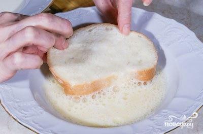 Гренки из хлеба - фото шаг 3