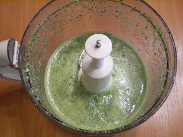 Зеленый коктейль с грушей - фото шаг 4