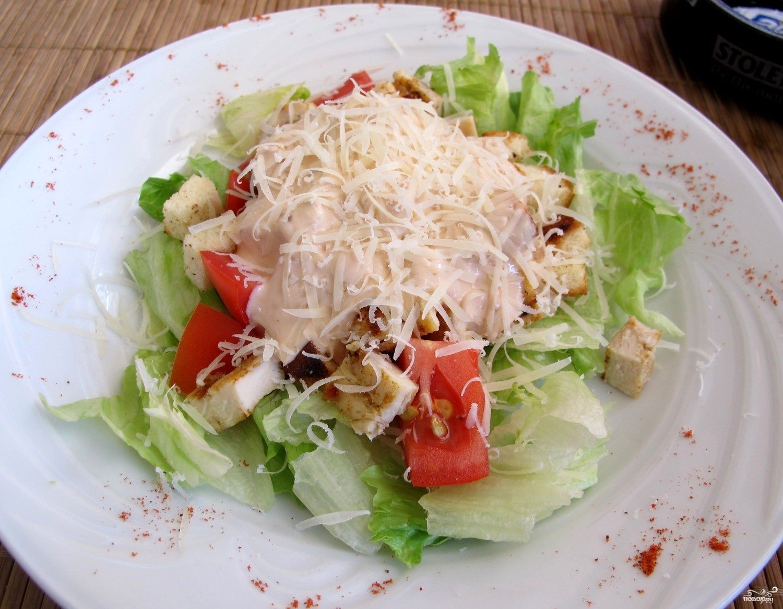 Рецепт Салат с бужениной