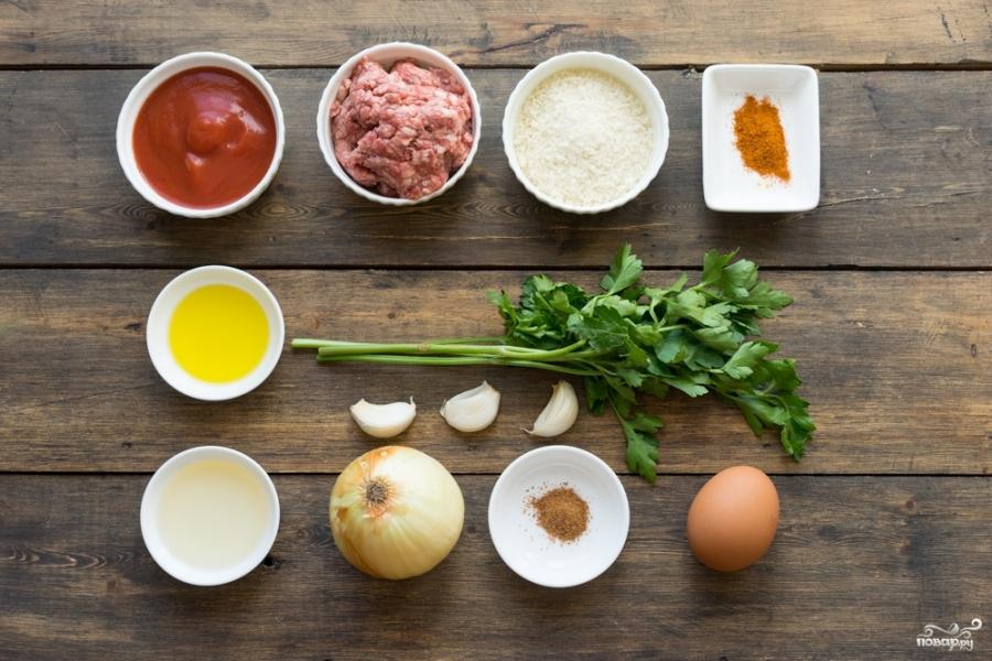 Томатный соус для тефтелей - фото шаг 1