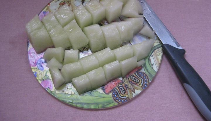 Варенье из дыни на зиму с лимоном - фото шаг 2