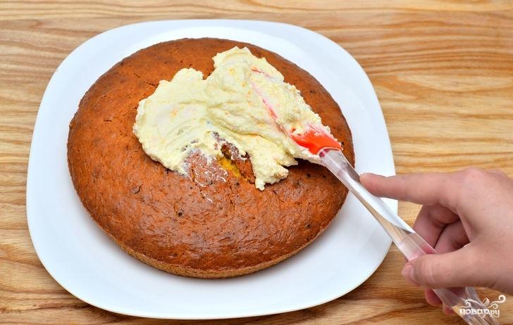 Пирог с морковью простой - фото шаг 9