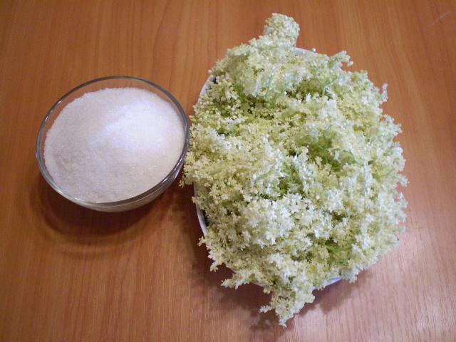 Рецепт Варенье из цветков бузины
