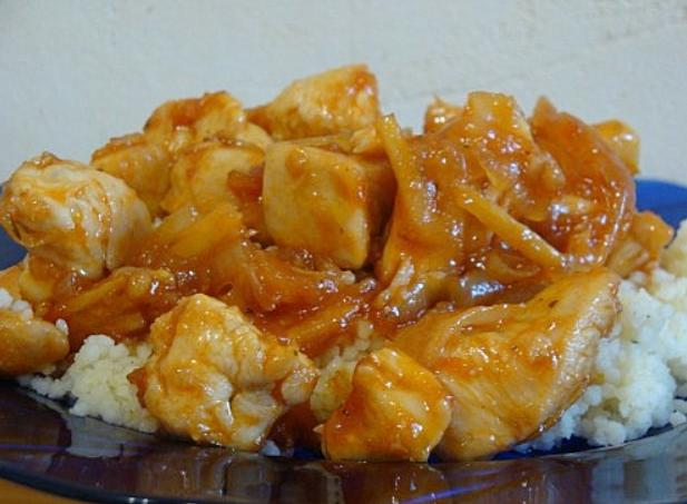 Курица в имбирном соусе - фото шаг 8