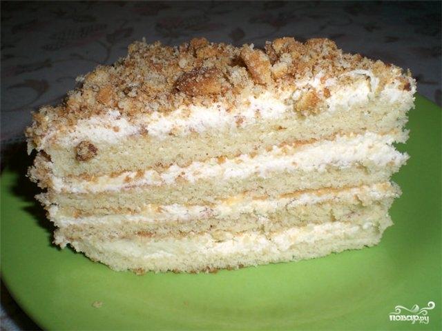 Торт без сметаны