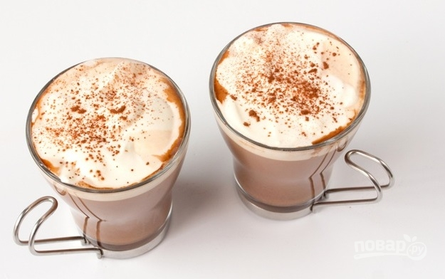 Кофе с Амаретто - фото шаг 9