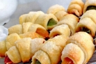 Печенье Рогалики с мармеладом