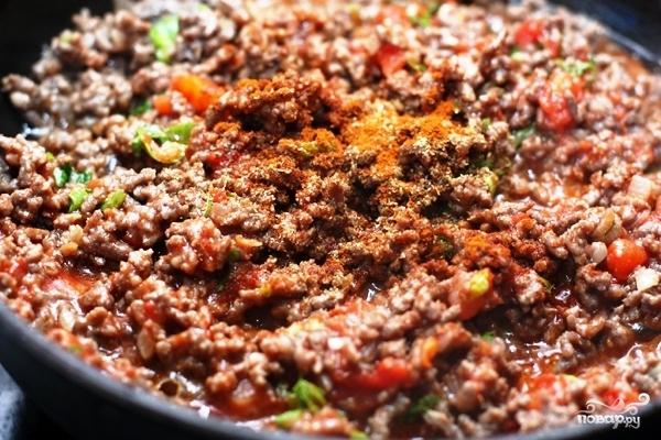 Тортилья с мясом - фото шаг 4