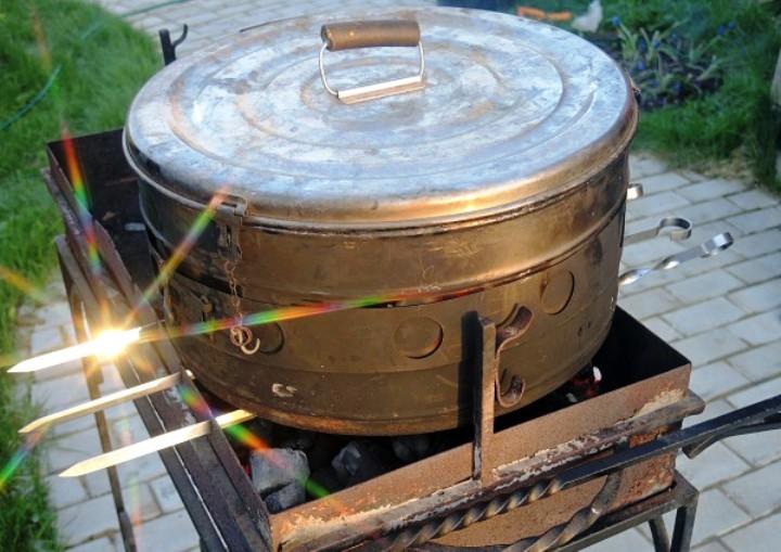 Скумбрия горячего копчения в коптильне - фото шаг 5