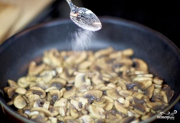 Куриный салат с грибами - фото шаг 3
