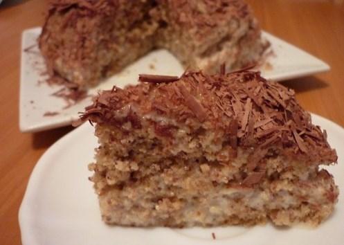 Ореховый торт за 5 минут - фото шаг 6