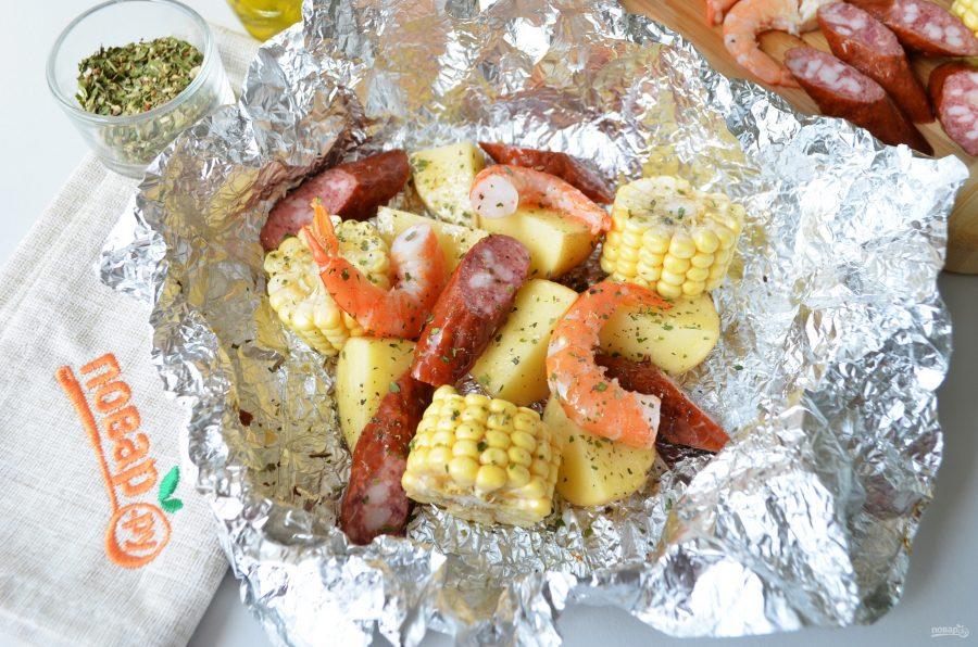 рецепт кукурузы в духовке в фольге рецепт с фото