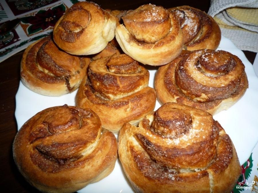 Рецепт Сдобные булочки