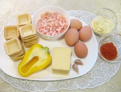 Рецепт Тарталетки закусочные