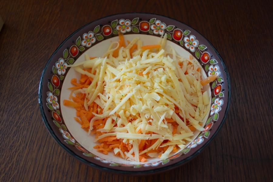 Простой салат на каждый день - фото шаг 3