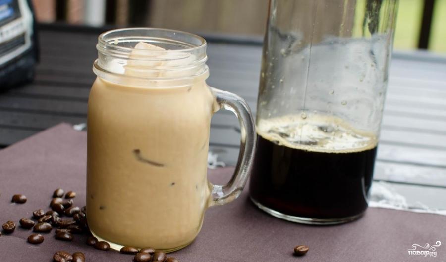 Холодный кофе - фото шаг 5