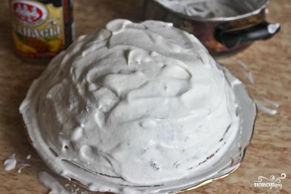 """Торт """"Панчо"""" с ананасами - фото шаг 7"""