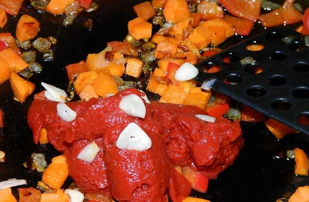 Вегетарианский суп с рисом - фото шаг 6