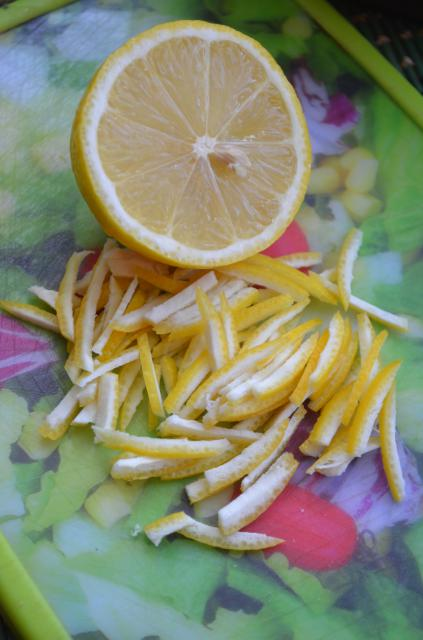 Карамельные мандарины - фото шаг 3