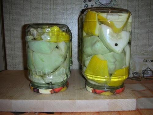 Маринованные патисоны с лимонной кислотой - фото шаг 4