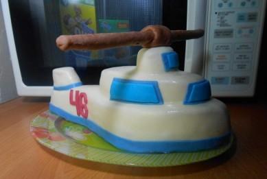 """Торт """"Вертолет"""" - фото шаг 10"""