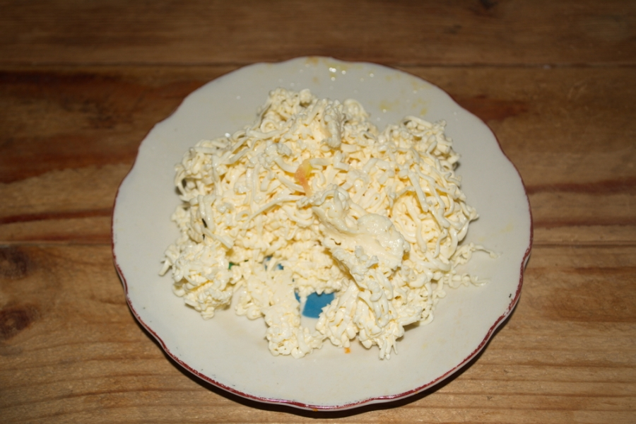 Гороховый суп с сыром - фото шаг 5