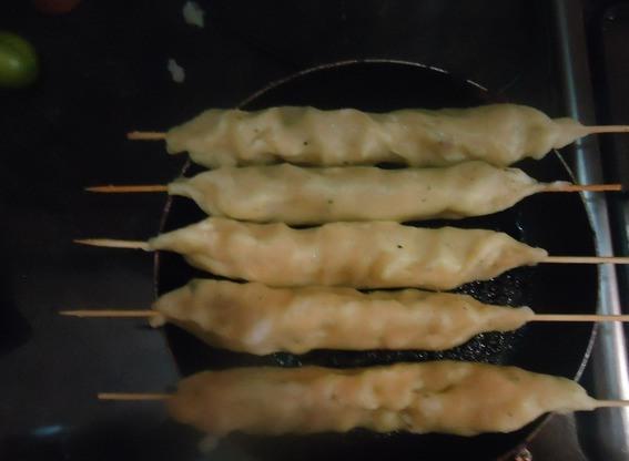 Кебаб из картофеля - фото шаг 2