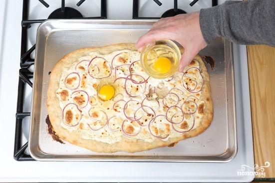 Пицца с творогом - фото шаг 3