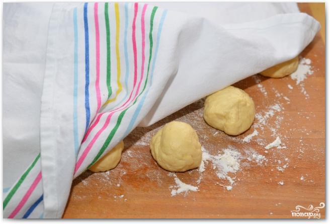Пирожки с творогом и изюмом - фото шаг 17