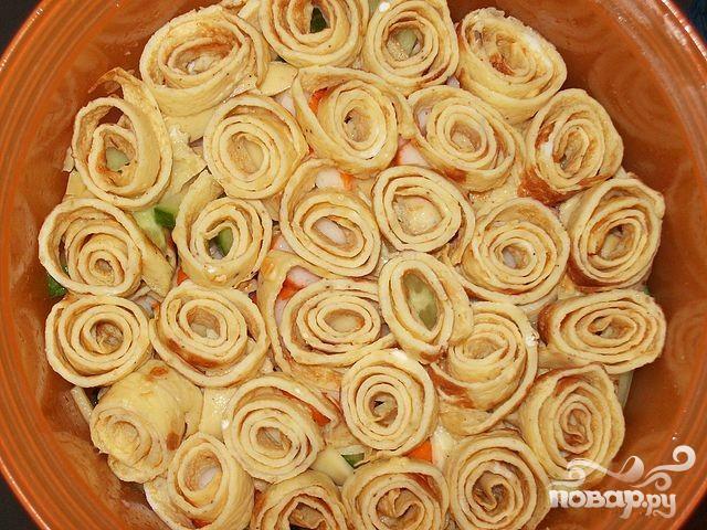 салат купеческий из говядины рецепт с фото