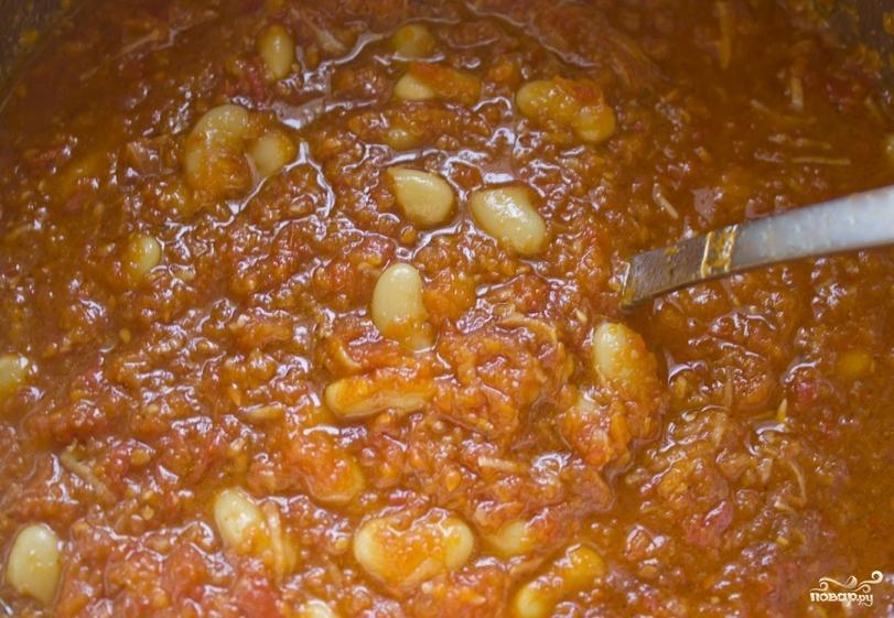Закатка салата с фасолью - фото шаг 4