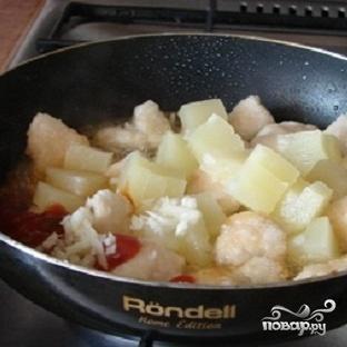 Курица в сладком соусе - фото шаг 3