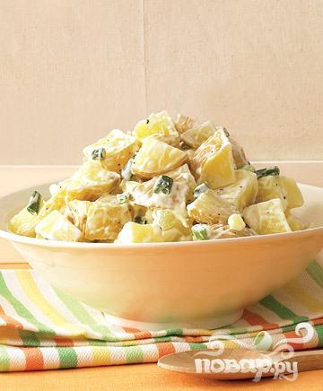 Рецепт Простой картофельный салат