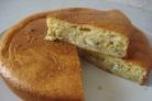 Пирог на ряженке с капустой