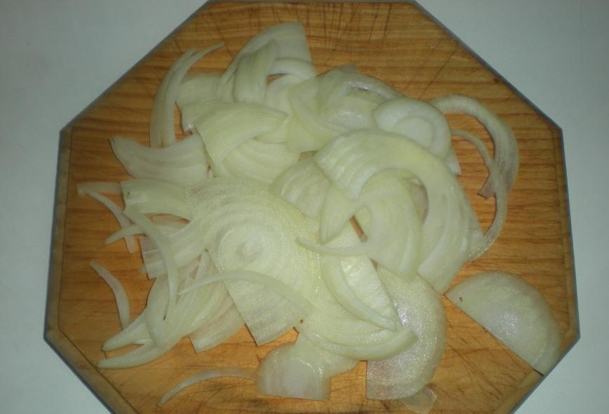 Бефстроганов с овощами - фото шаг 2