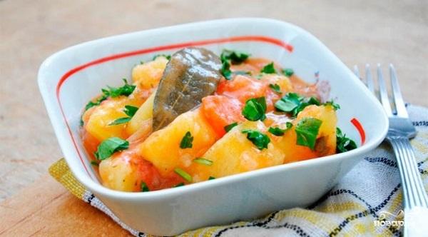 Рецепт Рагу с картошкой