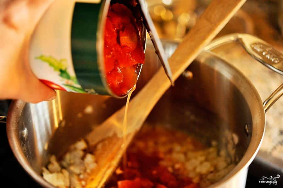 Итальянский помидорный суп - фото шаг 3
