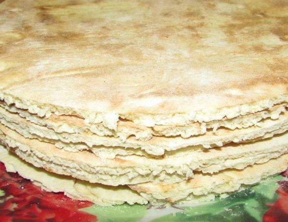 Торт наполеон на сковородке с заварным кремом