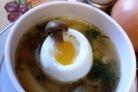 Суп из свежих волнушек