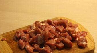 Рецепт Паста со свининой