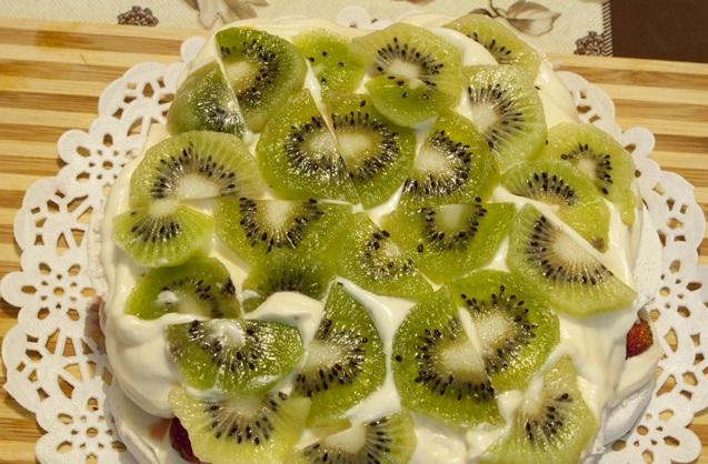 Торт из зефира без выпечки - фото шаг 10