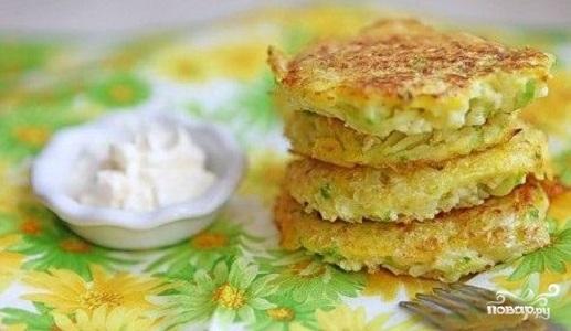 Рецепт Капустные котлеты на кефире