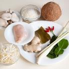 Рецепт Кокосовый суп с рисом