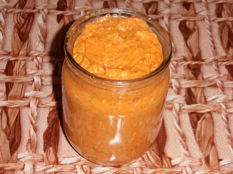 Кабачковая икра с соусом - фото шаг 7