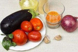Рецепт Вегетарианский суп-пюре из чечевицы