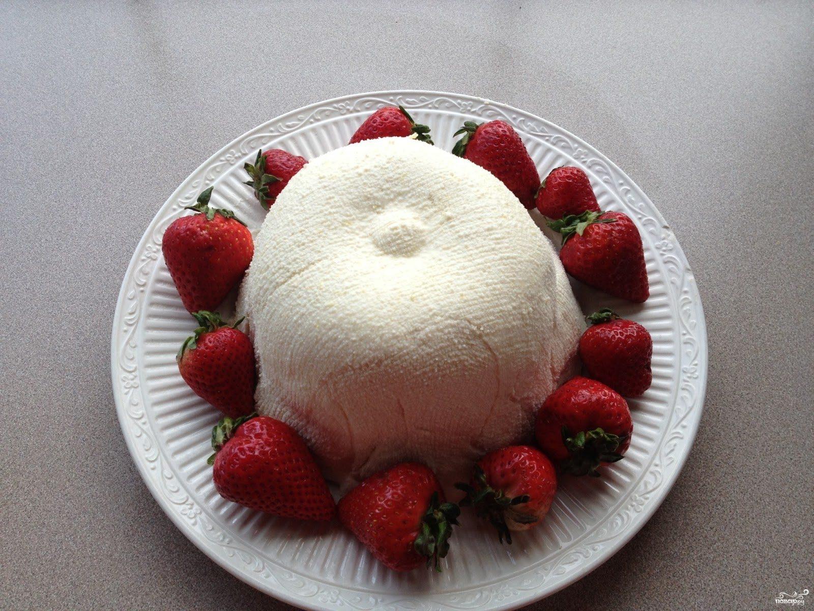 Рецепт Сырная пасха