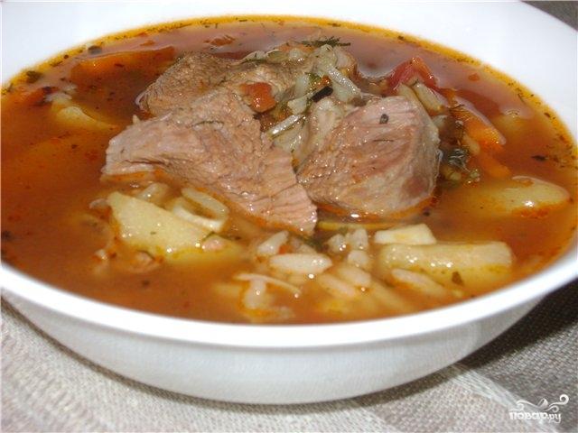 суп харчо лучший рецепт по домашнему с бараниной